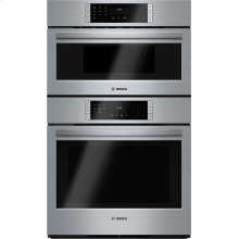 """CLEARANCE SHOWROOM MODEL 800 Series, 30"""" Combo, Upper: Speed Oven, Lower: EU Conv, Touch Control"""