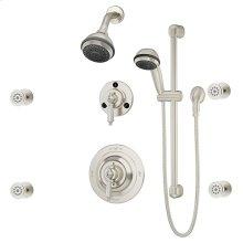 Symmons Water Dance® Shower/Hand Shower System - Satin Nickel