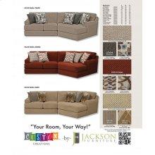Armless Sofa/Loveseat