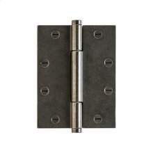 """Butt Hinge - 6"""" x 4 1/2"""" Silicon Bronze Brushed"""
