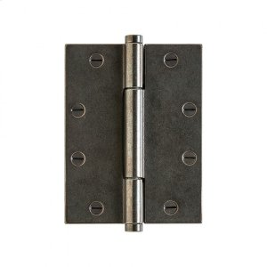 """Butt Hinge - 6"""" x 4 1/2"""" Silicon Bronze Brushed Product Image"""