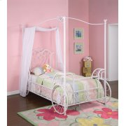 Princess Emily Carriage Canopy Twin Size Bed (includes Bed Frame) Product Image