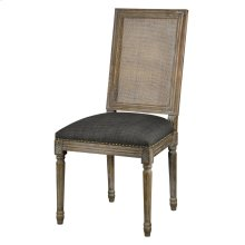 Square Maxwell Side Chair W/ Cane