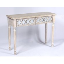 Emerald Home Ac701-00 Canterwood Sofa Table, Whitewash