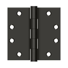 "4 1/2"" x 4 1/2"" Square Hinges, HD - Oil-rubbed Bronze"
