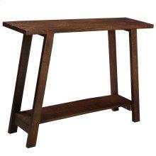 Volsa Console Table in Walnut