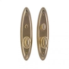 """Maddox Privacy Set - 3"""" x 12 1/2"""" Silicon Bronze Brushed"""