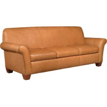 73 Tight Back Loveseat, Leather Essex Sofa