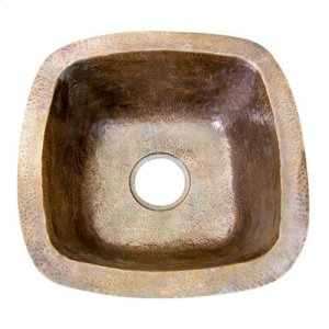 "16"" Trent Copper Bar u0026 Prep Sink - Antique Copper Product Image"