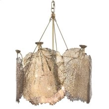 Extra Large Sea Fan Chandelier (brass)