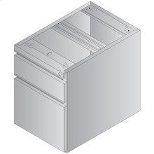 Metal Desk Return/credenza Pedestal, Box/file