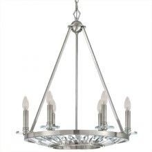 Cascade Collection Six-Light Incandescent Chandeli