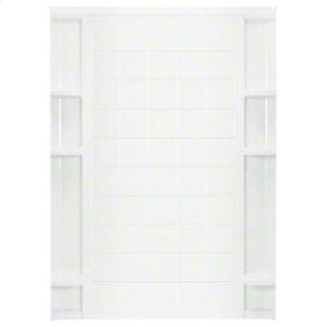 "Ensemble™ 60"" Tile Backwall - White Product Image"
