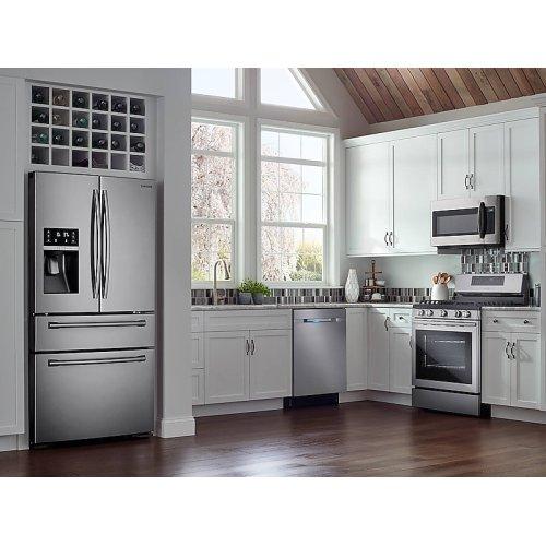 30 cu. ft. 4-Door French Door Refrigerator in Stainless Steel