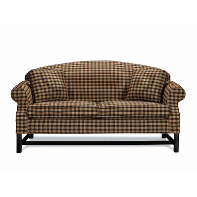 Small Sofa with Black Chippendale Base ( 2 seats)
