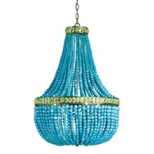 Hedy Turquoise Chandelier