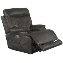 Pwr Headrest w/Lumbar Pwr Lay Flat Recliner w/Ext Ottoman