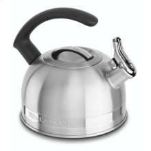 2.0-Quart Stove Top Kettle with C Handle - Stainless Steel Finish