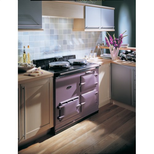 Heather 2-Oven AGA Cooker (electric) Electric fuelled cast-iron cooker
