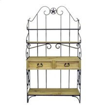 Wrought Iron Bakers Rack