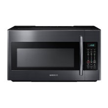 1.8 cu. ft. Over-the-Range Microwave with Sensor Cooking in Fingerprint Resistant Black Stainless Steel