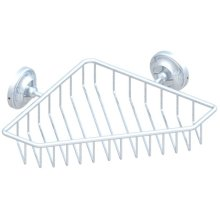Large Net Corner Soap Dish With Flanges 200 Mm X 200 Mm