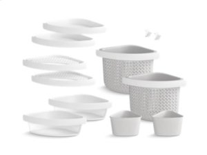 STORE+ Deluxe Twelve-Piece Assessories Kit - White Product Image