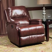 ATLAS - CHOCOLATE Manual Glider Recliner Product Image