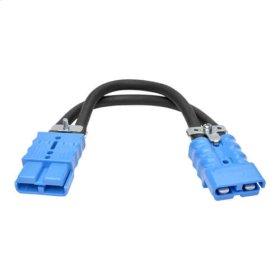 Extension Cable for Select Tripp Lite Battery Packs, Blue 175A DC Connectors, 1 ft. (0.3 m)