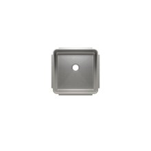"Classic 003227 - undermount stainless steel Bar sink , 15"" × 15"" × 7"""