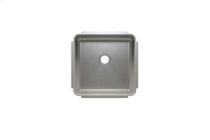 """Classic 003227 - undermount stainless steel Bar sink , 15"""" × 15"""" × 7"""" Product Image"""