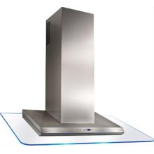 """36"""" Stainless Steel Range Hood with External Blower Options"""