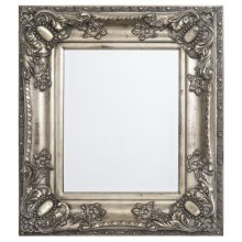 Antique Silver Framed Mirror