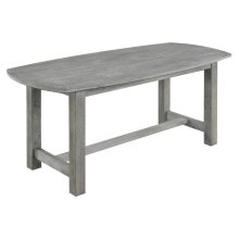 Emerald Home Carrera Gathering Height Dining Table Slate Gray D905-13