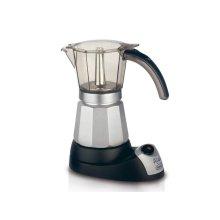 Alicia Electric Moka Pot Coffee Maker for Authentic Italian Espresso, 6 Cups - EMK6