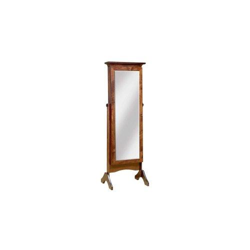 Cheval Mirror w/Sliding Doors