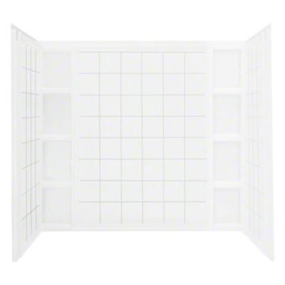 Ensemble™ Wall Set with Age-in-Place Backers - White