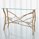 Twig Console-Gold Leaf Product Image