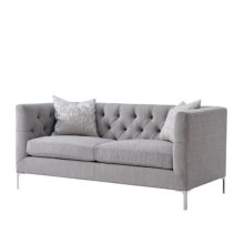 Ardmore Love Seat (nickel)