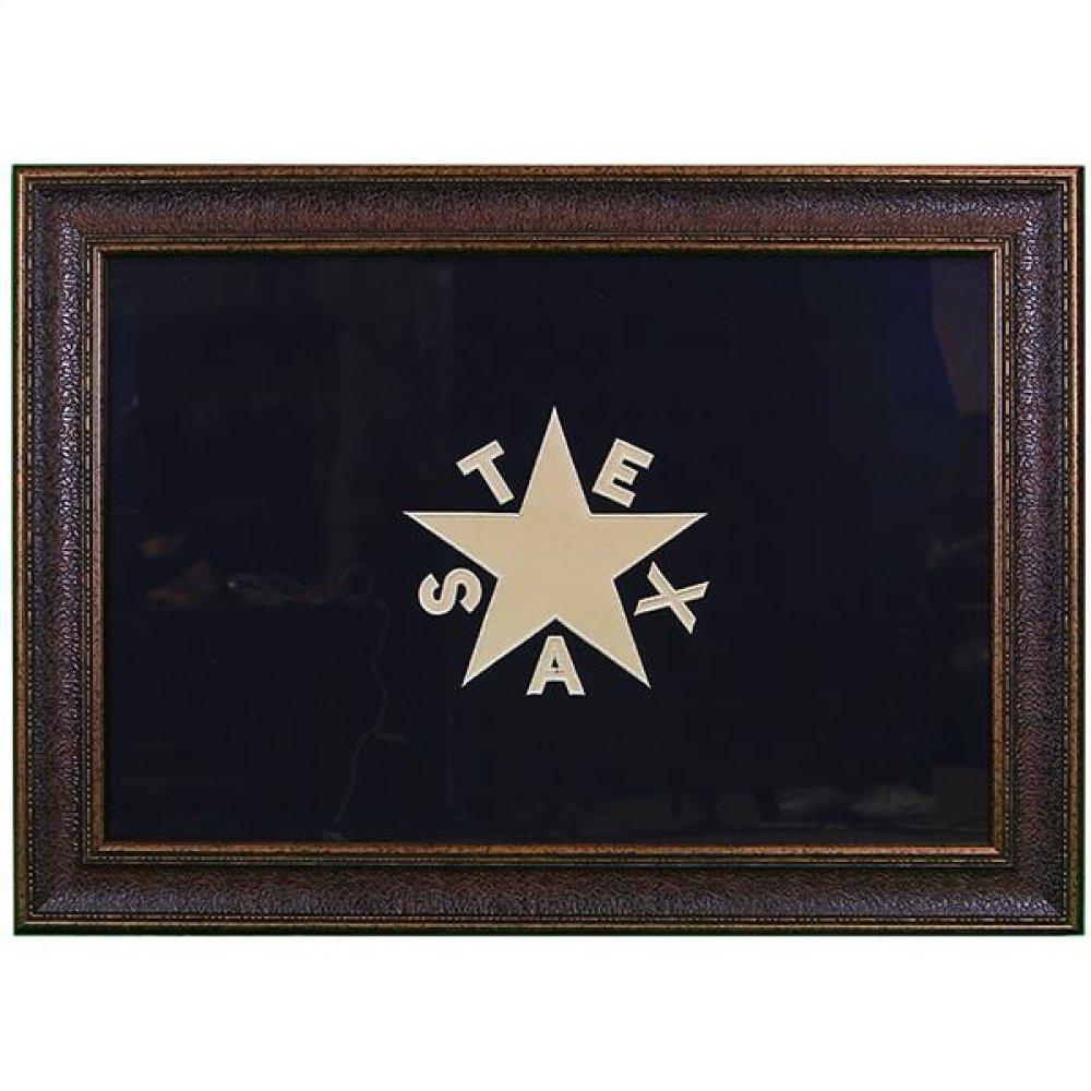 Large Republic Of Texas Flag No Matt