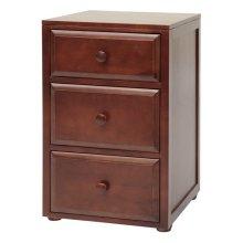 3 1/2 Drawer Dresser : Chestnut