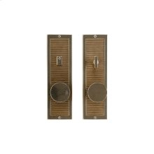 """Flute Privacy Set - 3"""" x 10"""" Silicon Bronze Brushed"""