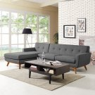 Engage Left-Facing Sectional Sofa in Gray Product Image