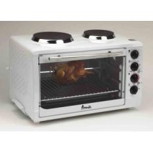 Model OCRB43W - Oven w/Convection, Rotisserie, and Two Cook Top Burners
