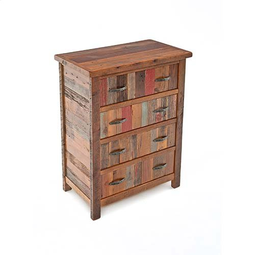 Back To the Barn - 4 Drawer Upright Chest