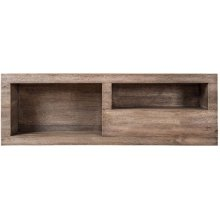 Duo Bookcase Module 1 - CoastalGray