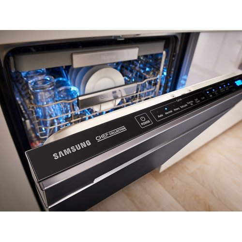 Chef Collection Dishwasher with Hidden Touch Controls in Stainless Steel