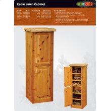 Cedar Linen Cabinet