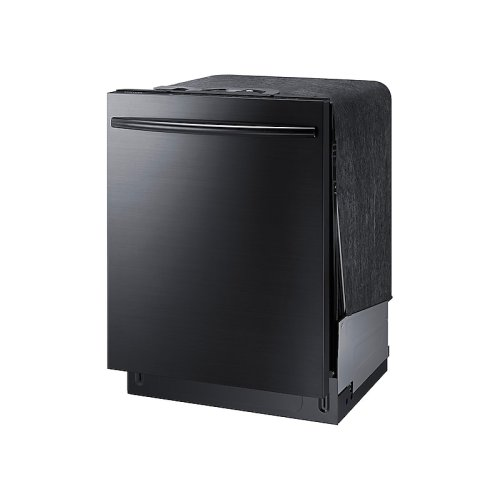 StormWash Dishwasher with Top Controls in Black Stainless Steel