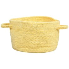 Yellow Chenille Creations Basket